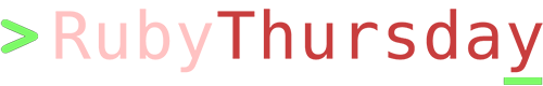 Rubythursday logo